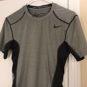 Nike Pro Combat Compression Shirt - (Size: L)